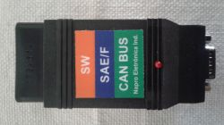 Conector Canbus/SaeF/Sw  para PCScan 3000 - Napro